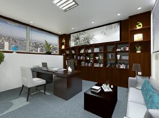 办公室一角,480平,35万,现代,公装,