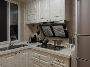 ,76平,9万,美式,两居,厨房,白色,
