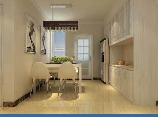 ,130平,5万,现代,三居,餐厅,厨房,白色,