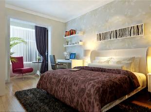 ,60平,5万,现代,两居,卧室,春色,