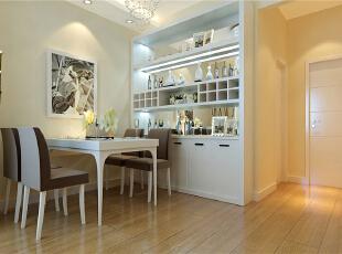 ,60平,5万,现代,两居,餐厅,白色,