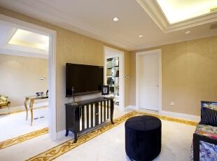 ,客厅,米黄色,白色,