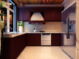 ,230平,25万,美式,复式,厨房,红色,