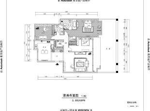 ,140平,14万,中式,三居,客厅,