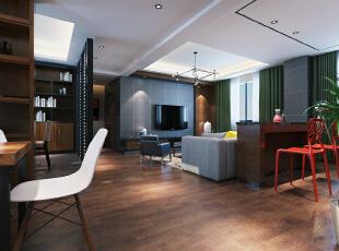 客厅,124平,16万,现代,三居,