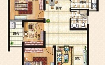 上东城98平方三室两...
