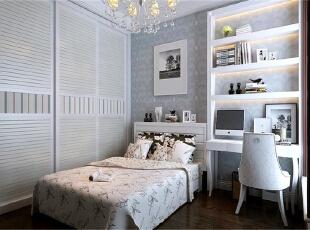 ,120平,7万,欧式,三居,卧室,白色,