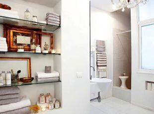 ,58平,4万,欧式,公寓,卫生间,白色,
