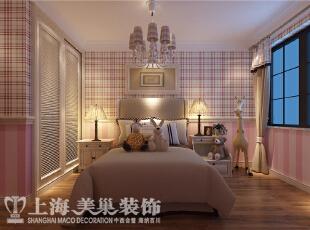 水映唐庄180平方复式装修案例效果图-女儿房,180平,20万,美式,别墅,儿童房,粉色,