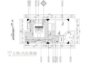 水映唐庄180平方复式装修户型图及平面布局方案-三楼,180平,20万,美式,别墅,