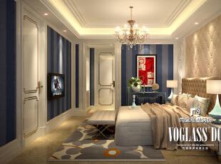 ,250平,160万,中式,大户型,卧室,黄色,