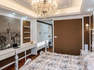 ,157平,18万,现代,三居,卧室,白色,