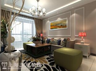 金林中心装修91平2室两2厅现代简约风格案例——沙发背景墙,91平,8万,现代,两居,客厅,白色,
