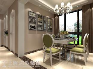 金林中心91平2室两2厅现代简约风格装修效果图——餐厅,91平,8万,现代,两居,餐厅,黄色,绿色,