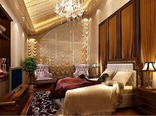 ,260平,33万,欧式,Loft,客厅,原木色,