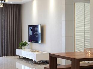 ,120平,10万,现代,三居,客厅,白色,