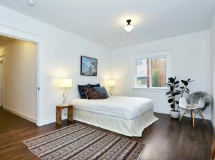 卧室设计,134平,15万,欧式,三居,白色,卧室,