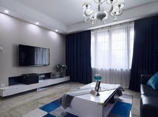 ,65平,5万,简约,公寓,客厅,黑白,