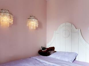 ,140平,12万,美式,三居,卧室,粉色,紫色,