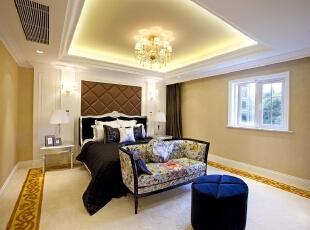欧式风格卧室,400平,50万,欧式,别墅,