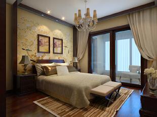 ,120平,20万,一居,中式,卧室,黄色,