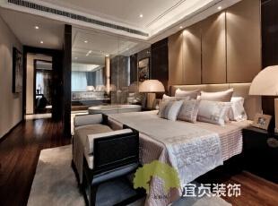 ,125平,11万,中式,公寓,卧室,黑白,