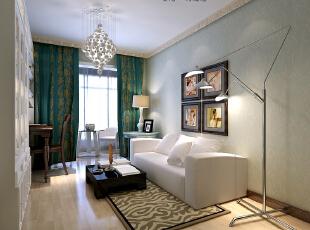 ,140平,25万,大户型,混搭,卧室,绿色,白色,