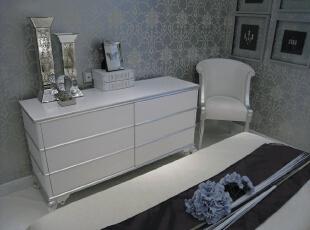 餐边柜,120平,17万,现代,一居,卧室,白色,