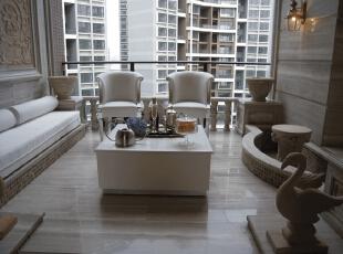 完美的入户花园。,120平,17万,现代,一居,阳台,白色,
