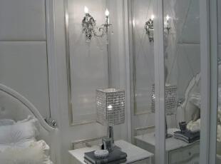 客房,壁灯梦幻,120平,17万,现代,一居,卧室,白色,