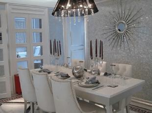 ,120平,17万,现代,一居,餐厅,白色,