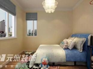 ,117平,6万,现代,三居,卧室,粉色,