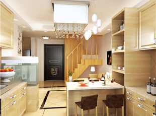 客厅餐厅餐桌统一协调既增加了空间的利用率,又增加了美感,现代,两居,童年河装修,童年河loft,港式风格,玄关,餐厅,原木色,