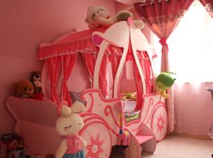 ,180平,40万,复式,现代,儿童房,粉红色,