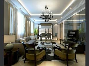 ,140平,28万,小户型,现代,客厅,黑白,
