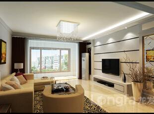 ,138平,5万,现代,三居,客厅,原木色,白色,