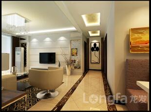 ,138平,5万,现代,三居,客厅,白色,原木色,黄色,