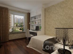 ,138平,5万,现代,三居,卧室,白色,原木色,黄色,