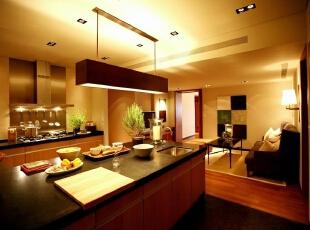 餐厅:舒适温馨,整个空间的搭配有一种归属感,199平,20万,现代,三居,厨房,黑白,
