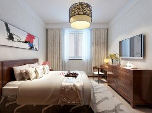 ,380平,20万,中式,别墅,卧室,白色,
