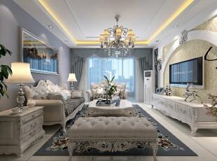 ,139.0平,99800.0万,欧式,三居,客厅,黄色,白色,紫色,