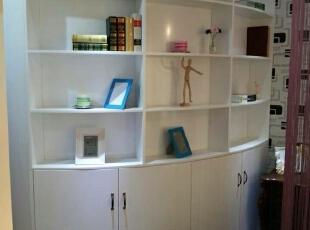 ,45平,3万,现代,一居,书房,白色,