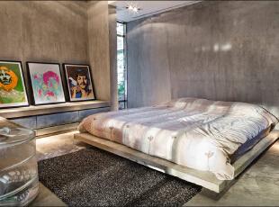 ,99平,11万,两居,现代,卧室,黑白,