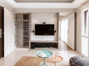 ,78平,29万,两居,美式,客厅,白色,