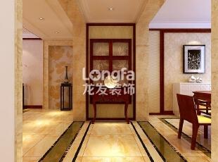 石家庄维多利亚199㎡户型中式风格装修效果图案例~,199平,9万,中式,四居,餐厅,原木色,黄色,