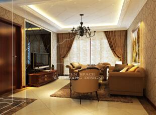 ,120平,15万,现代,两居,客厅,黄色,