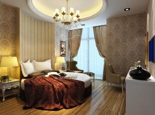 ,120平,15万,现代,两居,卧室,粉色,黄色,