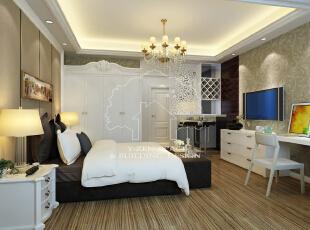 ,45平,3万,现代,一居,卧室,黄色,