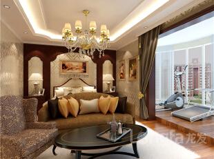 ,165平,6万,欧式,三居,卧室,原木色,白色,
