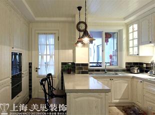 方圆经纬108平方三室两厅现代简约装修案例---厨房装修效果图,108平,7万,现代,三居,厨房,白色,